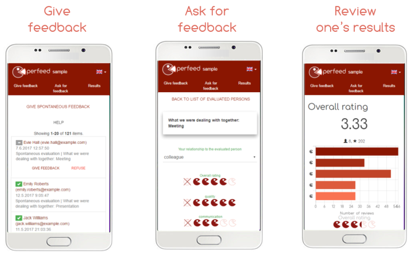 Perfeect – 3 main functions of the perfect feedback tool